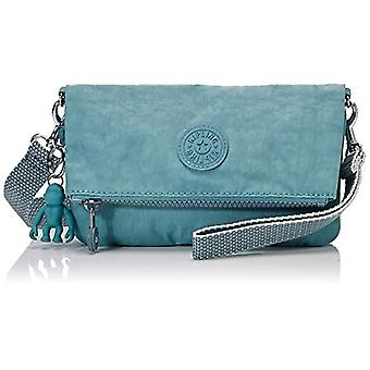 Kipling Blue Women's shoulder bag (Blue (AQUA FROST 50L)) 20x12.5x2.5 cm (B x H x T)