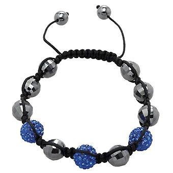 Carlo Monti JCM1148-592 - Women's bracelet with hematite - Fabric