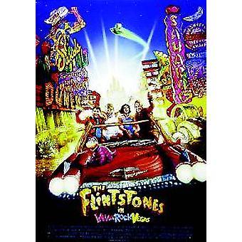 Die Flintsones Viva Rock Vegas (doppelseitig) Original Kino Poster