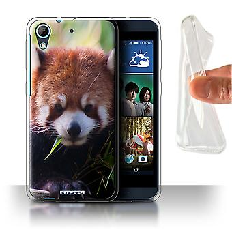 STUFF4 Gel/TPU Case/Cover for HTC Desire 626G+/Racoon/Wildlife Animals