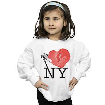 Joey Ramone Girls I Heart NY Sweatshirt