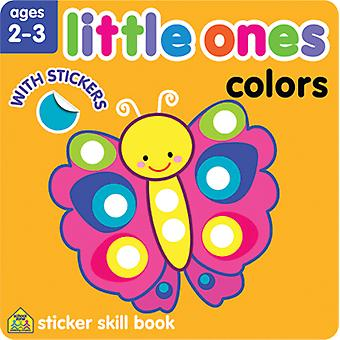 Little Ones autocollant Skill Book-couleurs SZLOSSB-06423