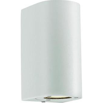 Outdoor wall light HV halogen GU10 70 W Nordlux Canto Maxi 77561001 White