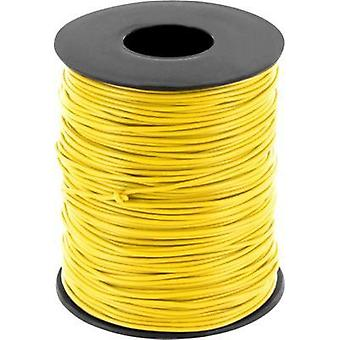 Jumper wire 1 x 0.2 mm² Yellow BELI-BECO D 105/100 giallo 100 m