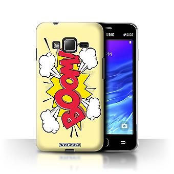 STUFF4 Case/Cover for Samsung Z1/Z130/Boom!/Comics/Cartoon Words