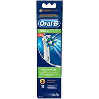Braun Replacement Toothbrush EB50 - 3 Cross Action (Woman , Esthetics , Dental beauty )