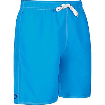 arena has. Sides vent Boxer shorts men's swimwear blue