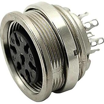 Round connector C091/A Number of pins: 6 Connector socket 5 A T 3403 000