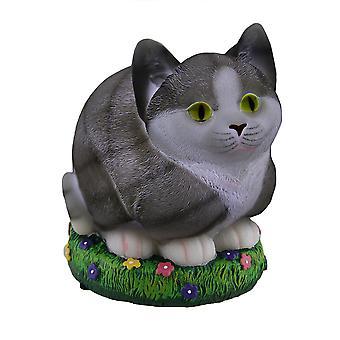 Überall Leuchten Sie LED Katze Statue/Nitelite