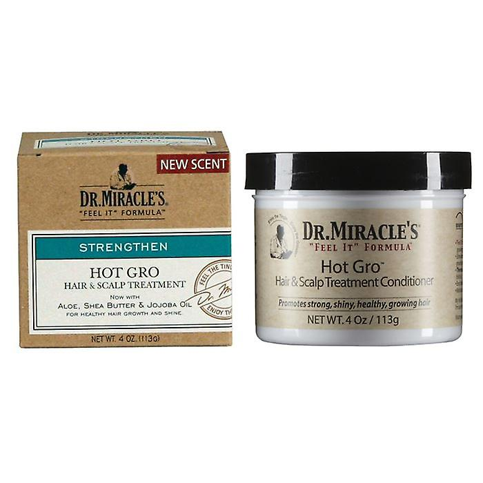 Dr. Miracles Hot Gro Hair & Scalp Treatment 4oz Regular