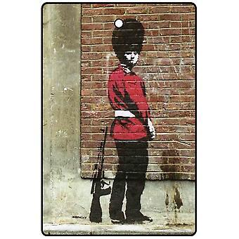 Banksy Pissing vakt bil Air Freshener