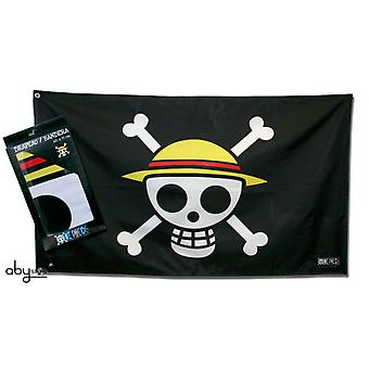 Abysse One Piece Flag Skull Luffy (Home , Babies and Children , Decoration , Wallpapers)