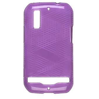 Wireless Solutions Criss Cross Dura-Gel Case for Motorola Photon 4G MB855 - Eggp