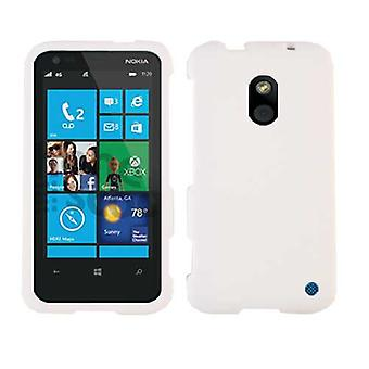 Unlimited Cellular Snap-On Case for Nokia Lumia 620 - Honey White, Leather Finis