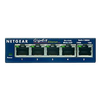 NETGEAR ProSAFE GS105 Switch-5 x 10/100/1000-desktop