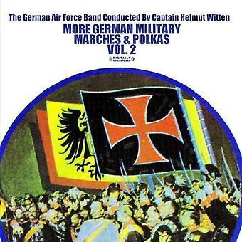 German Air Force Band diretta da capitano Helmut - più tedesco di marce militari e polke, importazione USA Vol. 2 [CD]