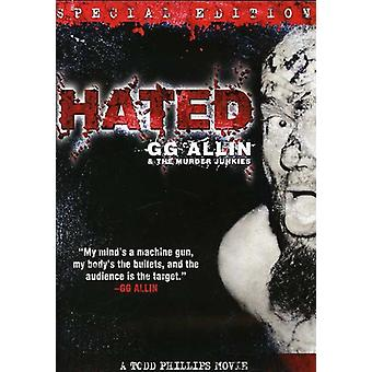 Gg Allin - Hated [DVD] USA import