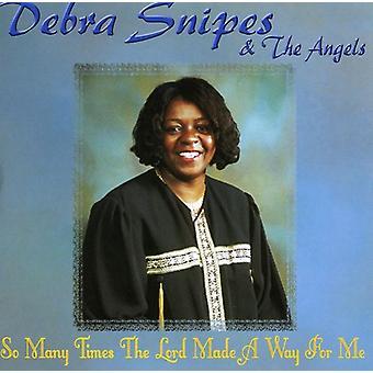 Debra Snipes - så mange gange Gud vil gøre en [CD] USA importere