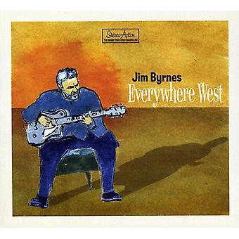 Jim Byrnes - overalt West [CD] USA import