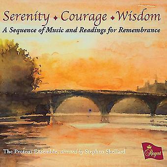 Ensemble de Proteus - sérénité Courage sagesse-une séquence de musique [CD] USA import