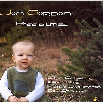Jon Gordon - muligheder [CD] USA import