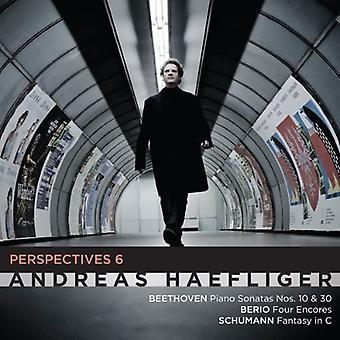 Haefliger / Haefliger - perspectivas 6: importación de USA de Beethoven Berio Schumann [CD]