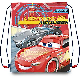 Kids Euroswan Gym Bag 41 Cm Cars 3 (Toys , School Zone , Backpacks)
