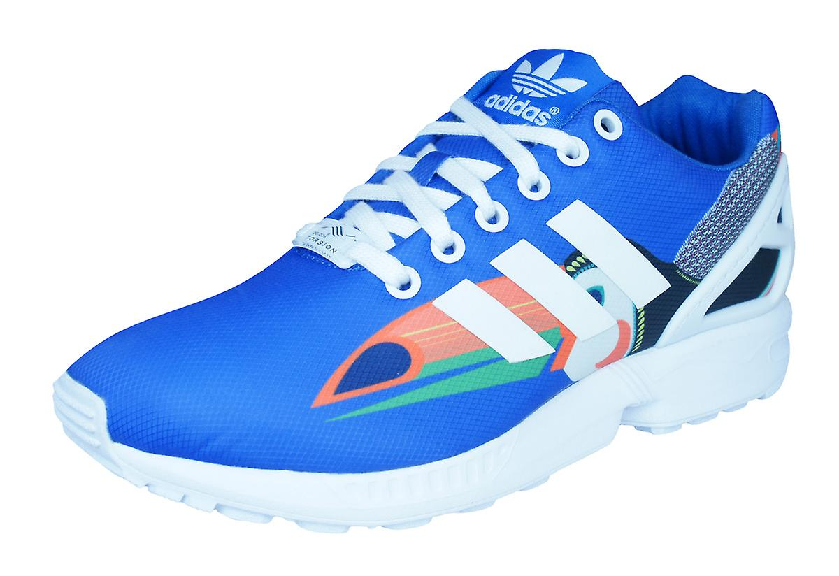 adidas Originals Originals Originals ZX Flux Womens Trainers / Shoes - Blue 82ea5a