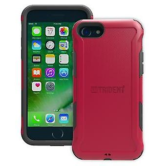 Protective cover aegis Trident red for iPhone 8 / 7