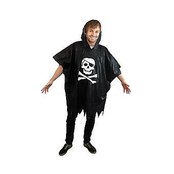 Pirat regn poncho sørøver pirate jakke poncho kostume regnjakke