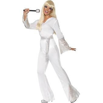 70er Jahre Girl Disco Queen Kostüm Dancing Queen