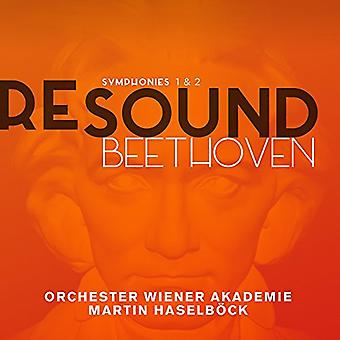 Beethoven / Orchester Wiener Akademie / Haselbock - Symphonies Nos. 1 & 2 [CD] USA import