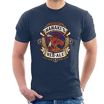 Final Fantasy Nanaki Rotfuchs XIII Ale Herren T-Shirt