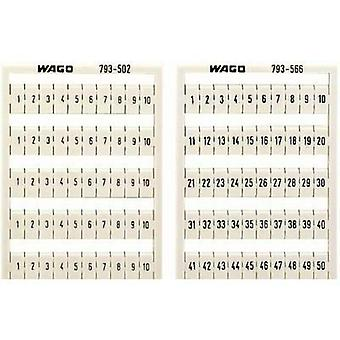 WAGO 793-3501 WMB-name Cards Compatible with (details): WAGO passage clamp series 2000