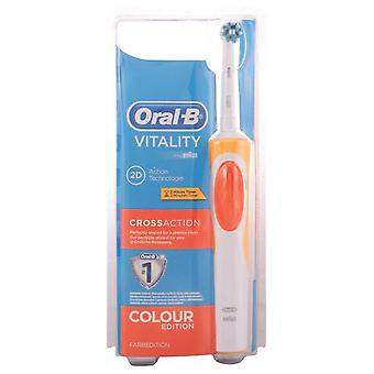 Oral B Oral - B Cross Action Electric Toothbrush (Damen , Ästhetik , Zahn Schönheit)