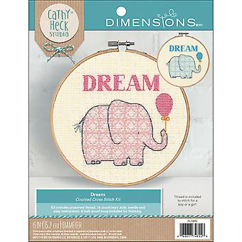 Cathy Heck Dream Counted Cross Stitch Kit-6