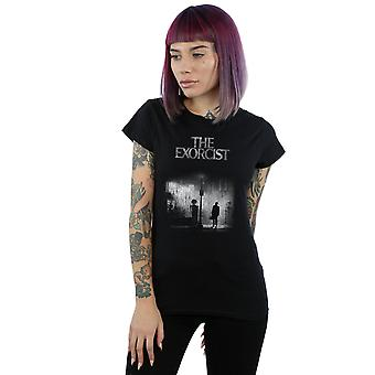 The Exorcist Women's Mono Distressed Poster T-Shirt