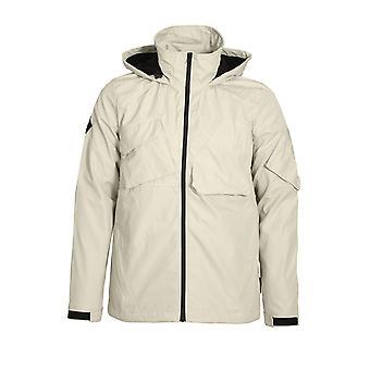 Bellfield Gamma Hooded Tech Jacket | Bone