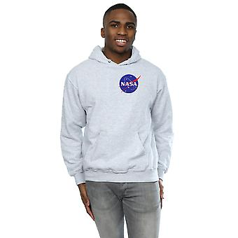 NASA Men's Classic Insignia Chest Logo Hoodie