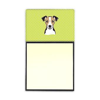 جاك راسل الكلب الجير ريفييلابل Sticky Note حامل موزع ملاحظة لاصقة