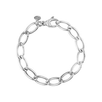 Fine Sterling Silver 925 Unisex Womens Mens Link Cable Solid Chain Bracelet