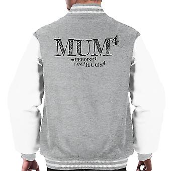 Mum To The Power Of 4 Men's Varsity Jacket