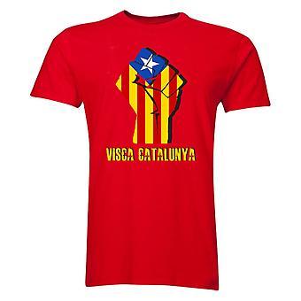 Visca Catalunya T-Shirt (Red)