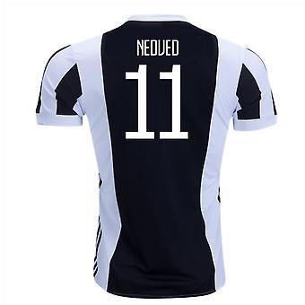 2017-18 Juventus Home Shirt (Nedved 11)