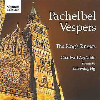 Pachelbel/Krieger/Krell - Pachelbel: Vespers [CD] USA import