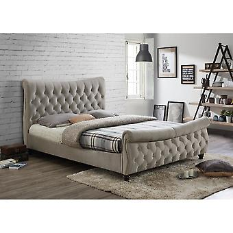 Birlea Copenhagen Superking Size Bed In Warm Stone