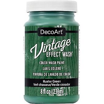 Vintage Effect Wash verf 8oz-Hunter Green DCW64-11