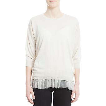 Snobby sheep women's 11285060 beige silk sweater