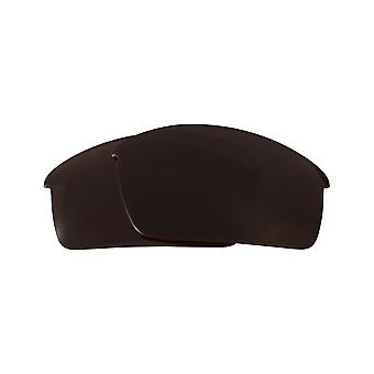 Replacement Lenses Compatible with OAKLEY Thump Pro Non-Polarized Brown