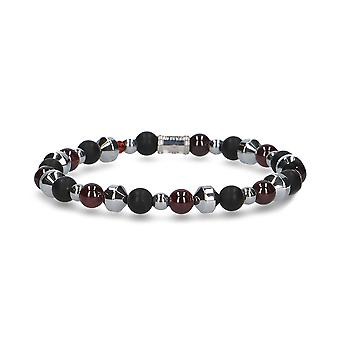 Beamay men's 1769PASSIONNEROGRI black other material bracelet